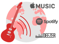 Icono de Distribución Digital de música