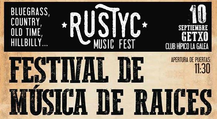 Segunda edición Rustyc Music Fest Cartel