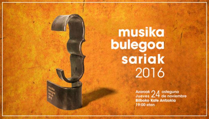 Musika Bulegoa Sariak Ganadores