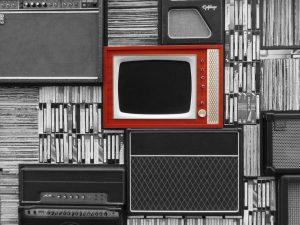gestión Depósito legal Televisión marco rojo