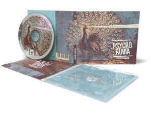 Digipack 2 Cuerpos con CD y bandeja transparente - Psycho Rubia