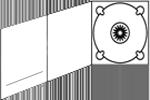Icono Digipack-3-cuerpos-bandeja-derecha-ranura-izquierda