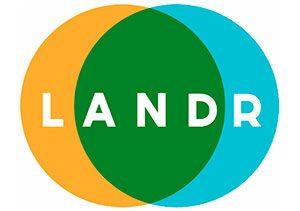 masterización profesional Logo Landr