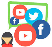 Avatar con redes sociales sarbide Music
