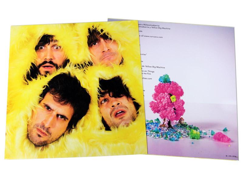 Paperbag de Vinilo - Yellow Big Machine