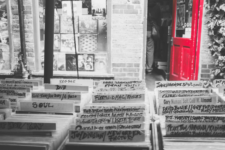 Tienda de vinilos música