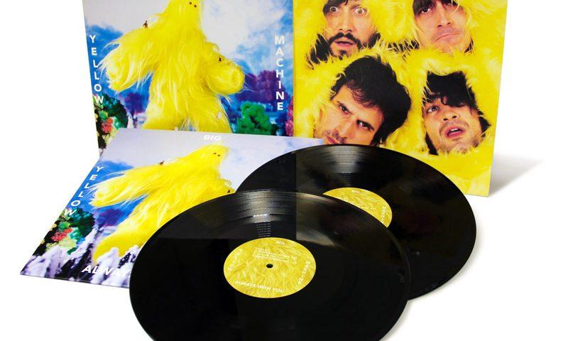 """Fabricación de Vinilo LP 12"""" con funda Gatefold - Yellow Big Machine"""