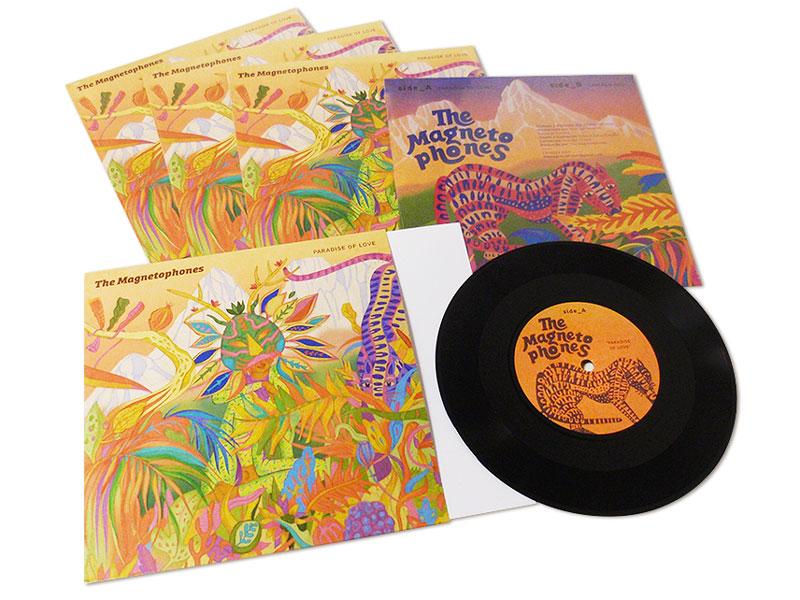 """Fabricación de Vinilo LP 7"""" - The Magnetophones"""