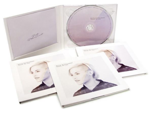 Digipack 2 Cuerpos con CD y bandeja transparente - Berta Bittersweet
