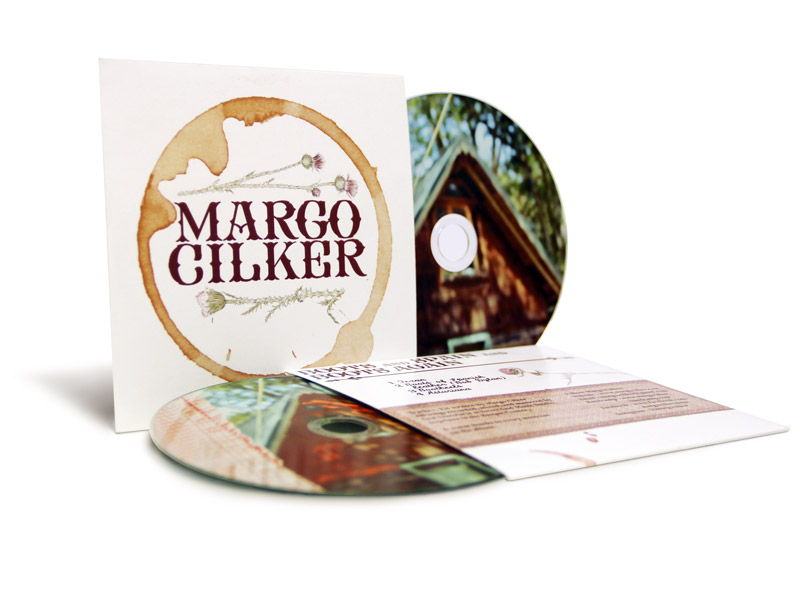Funda de cartón con CD - Margo Cilker