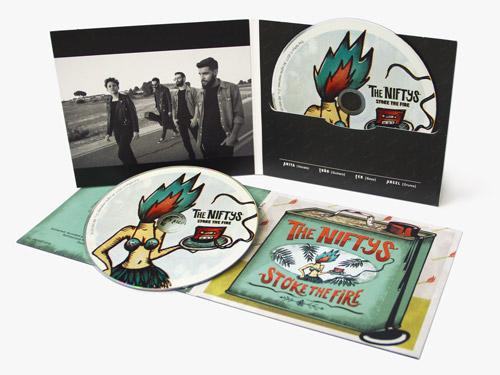 Oferta de música - fabricación de álbum con CD