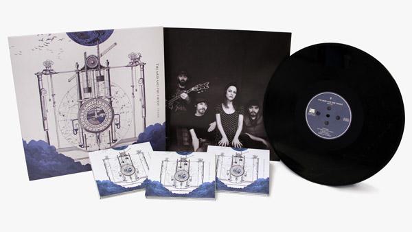 Fabricación de música en CD y Vinilo LP
