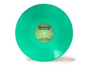 Fabricación de Vinilo LP en color verde