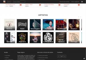 Artistas en plataforma Beloud