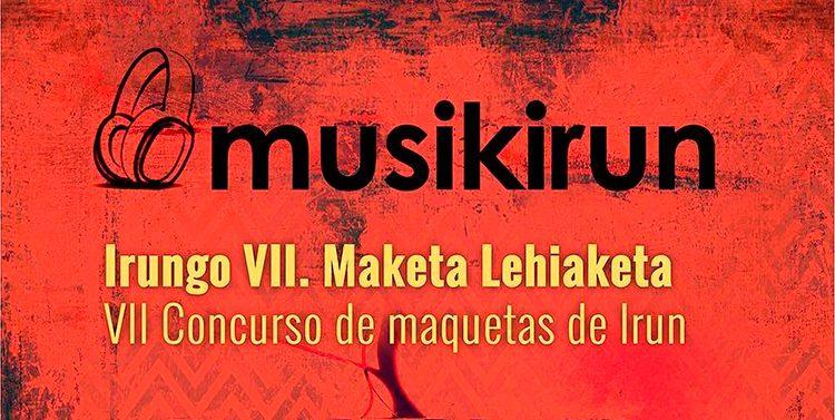 Cartel del VII concurso de maquetas MusikIrun