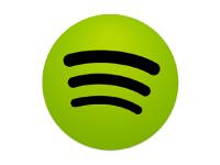Logo publicidad en spotify