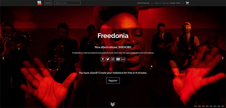 Únete a Beloud, la nueva plataforma online para músicos y fans