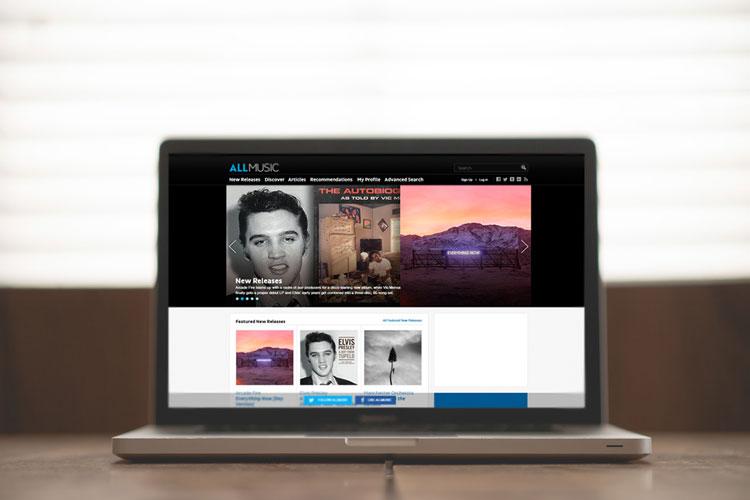 Página de alta en AllMusic