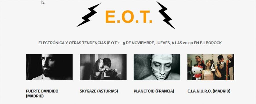 Finalistas pop Rock Villa Bilbao Electronica