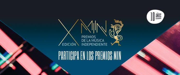 Premios Min 2018 musica independiente